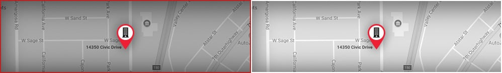 Schwartzberg / Luther, APC, Attorneys at Law Map